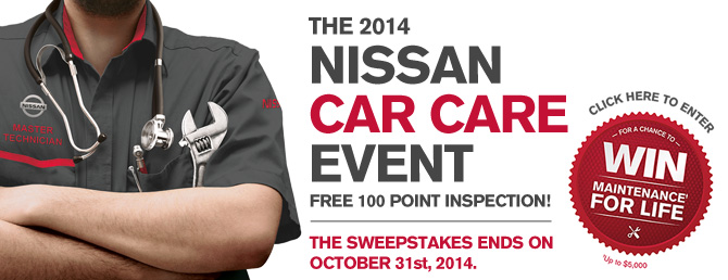 nissan car care event 2014