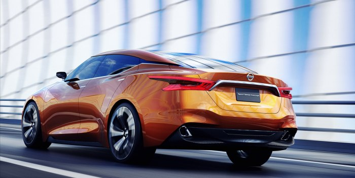 PICTURES: Nissan Sport Sedan Concept in NY