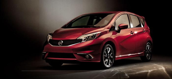 Meet the all new 2015 Nissan Versa Note SR, coming soon to NY