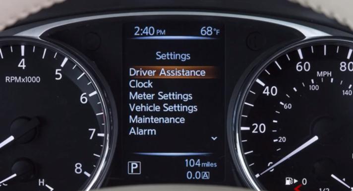 Understanding Your Nissan Vehicle Information Display