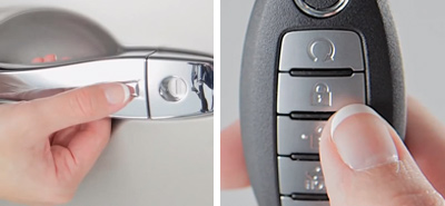 Nissan Intelligent Key conveniences in NY