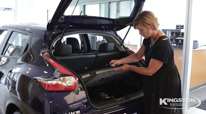 Spacious Interior of the 2015 Nissan Juke SL