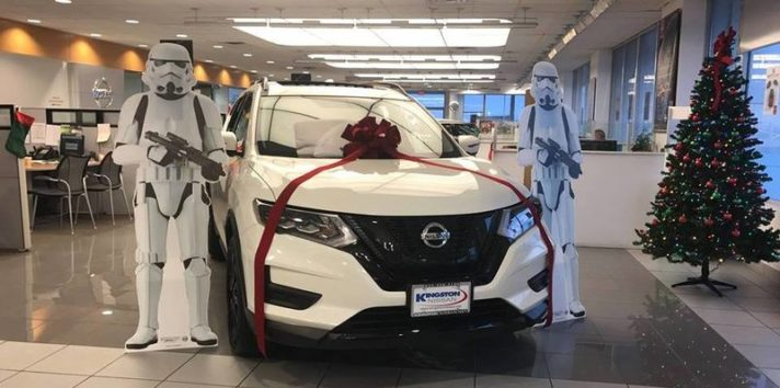 2017 Nissan Rogue One Star Wars Limited Edition NY