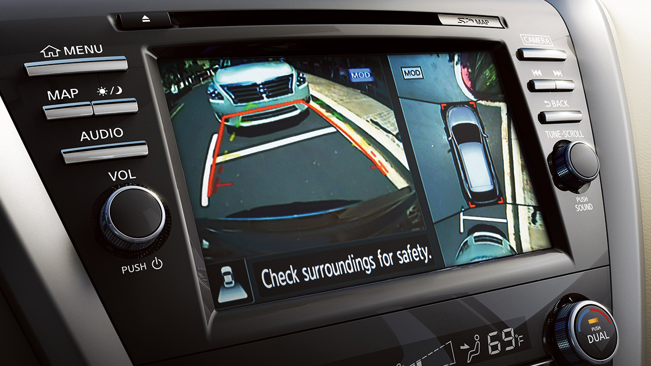 Nissan Murano Around View Monitor