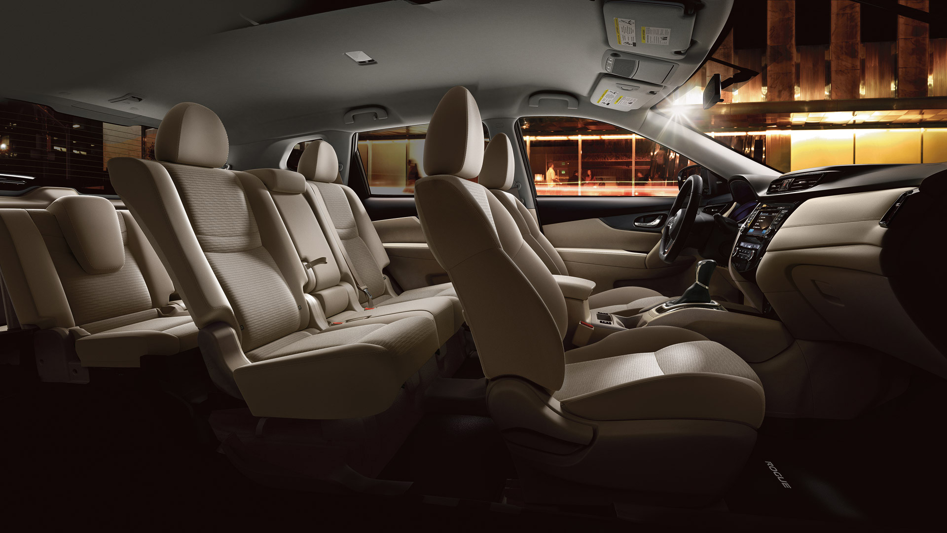 Nissan Rogue EZ Flex Seating