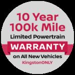 10 year - 100k mile warranty