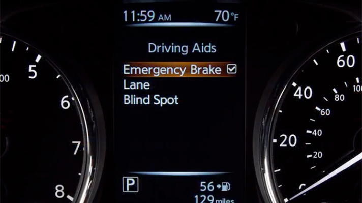 Nissan Forward Emergency Braking System