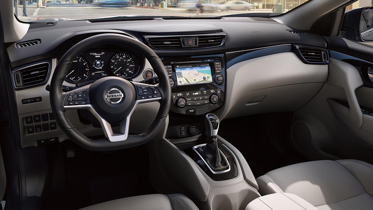 Nissan Rogue Sport Interior