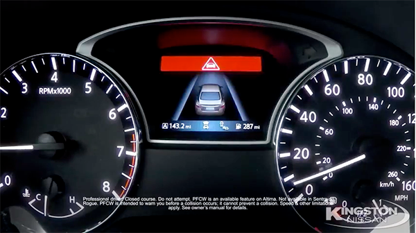 Predictive Forward Collision Warning