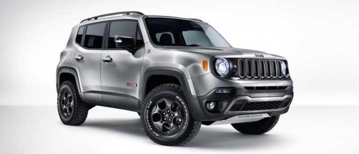 Jeep Renegade Hard Steel Concept Revealed at Geneva Auto Show