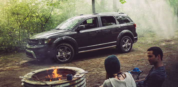 2015 Dodge Journey Crossroad comes with 19-inch hyper black aluminum wheels