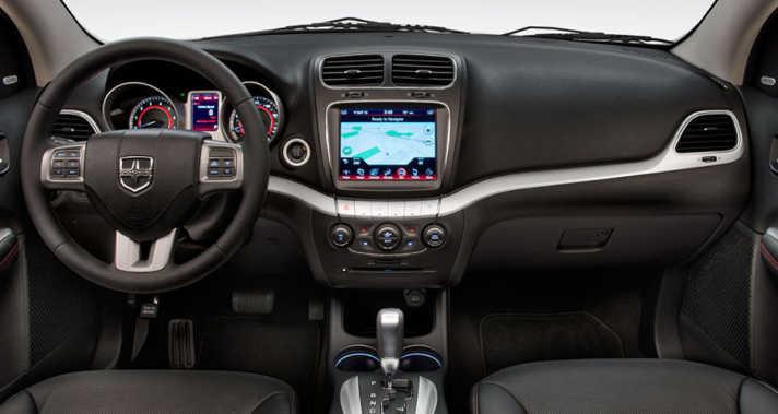 2015 Dodge Journey R:T Interior Navigation Cluster