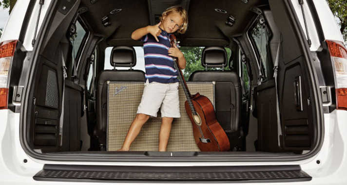 2015 Chrysler Town and Country kid friendly