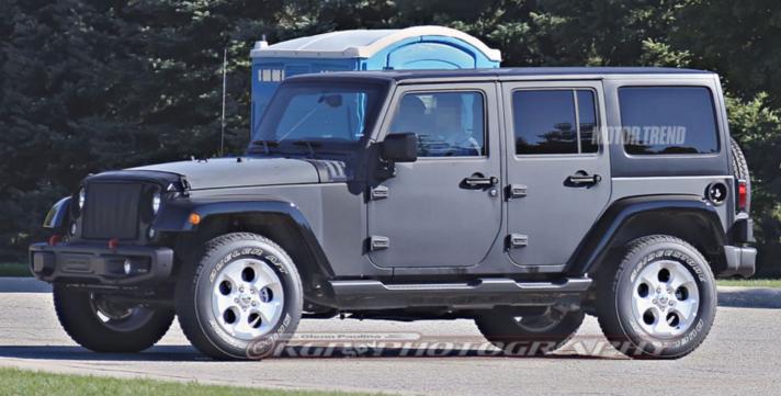2018 Jeep Wrangler Prototype—What's New?