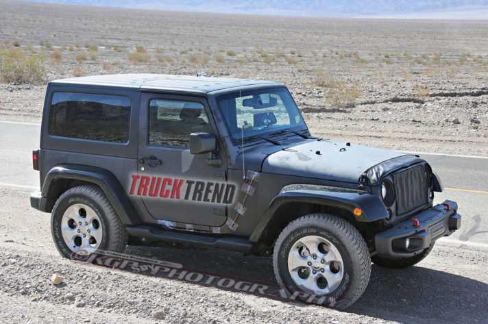 Jeep Wrangler Spy Photos NJ