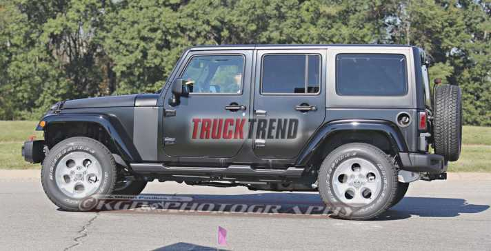 2018 Jeep Wrangler Unlimited Spied NJ