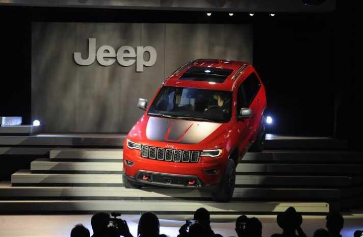 2017 Jeep Grand Cherokee Trailhawk Summit
