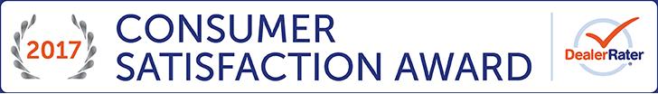 2017 DealerRater Consumer Satisfaction Award
