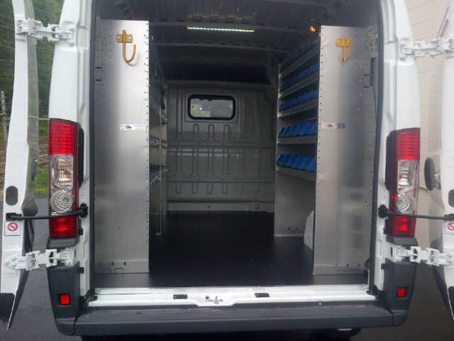 Ram ProMaster Contractor package